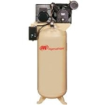 2340L5-V Two Stage Cast Iron Air Compressor - 5 HP - 230V/Single Phase