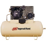 2545E10-V Two Stage Cast Iron Air Compressor - 10 HP - 230V/3-Phase